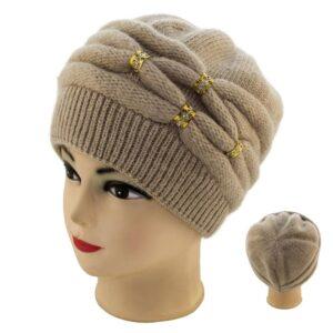 Женская шапка 18F805