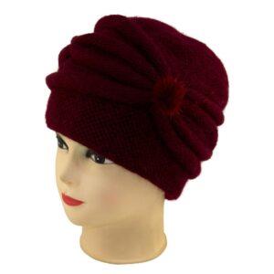 Женская шапка коса S 18-162-0