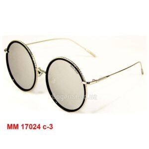 Солнцезащитные эксклюзивные женские очки MM 17024