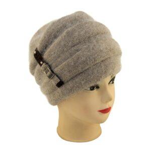 Женская шапка 17-2901-146 Кофе