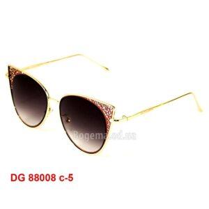 Солнцезащитные эксклюзивные женские очки DG 88008
