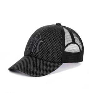 """Мужская бейсболка NCS 01-19 """"New York"""" Серая черный"""