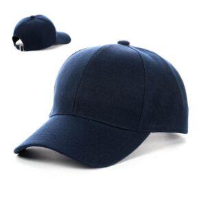 Бейсболка мужская коттон NCM 19-024 пустышка Синий