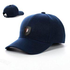 "Бейсболка мужская коттон NCM 19-009 ""Ferrari"" Синий"