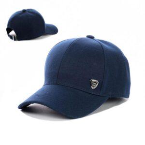 Бейсболка мужская коттон NCM 19-001 Синяя
