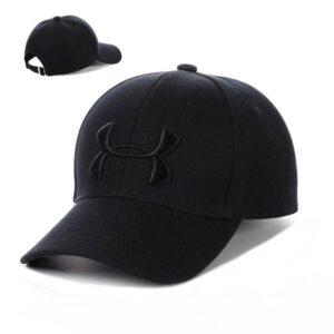 """Бейсболка вышивка """"UFC"""" NV 19-103 Черный-с-черным"""