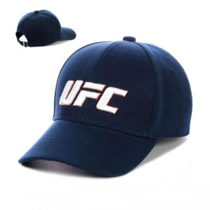 """Бейсболка вышивка """"UFC"""" NV 19-104 Синий-с-белым"""