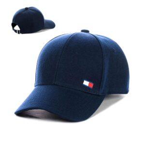 "Бейсболка вышивка ""Tommy Hilfiger"" NV 19-111 Синий"