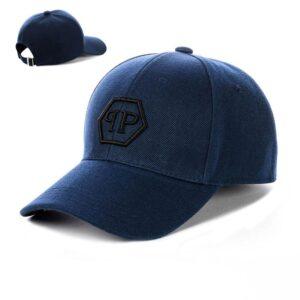 """Бейсболка вышивка """"Philipp Plein"""" NV 19-118 Синий"""