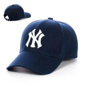 "Бейсболка вышивка ""New York"" NV 19-113 Синий-с-белым"