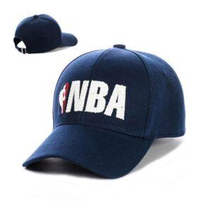 "Бейсболка вышивка ""NBA"" NV 19-120 Синий-с-белым"