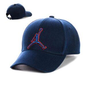 "Бейсболка вышивка ""Jordan"" NV 19-114 Синий-с-синим"