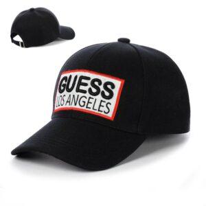 """Бейсболка вышивка """"Guess"""" NV 19-121 Черный"""