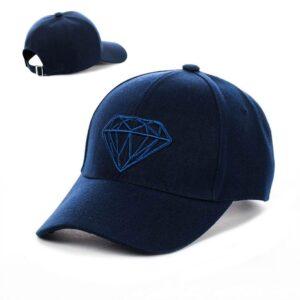 "Бейсболка вышивка ""Diamant"" NV 19-102 Синий"