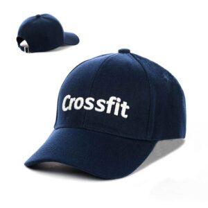 """Бейсболка вышивка """"Crossfit"""" NV 19-115 Синий-с-белым"""