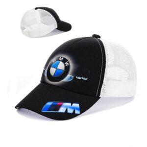 "Мужская бейсболка RC 018 ""BMW"" Белый"