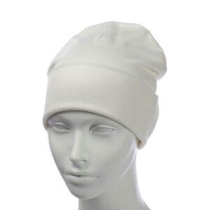 Молодежная шапка с отворотом