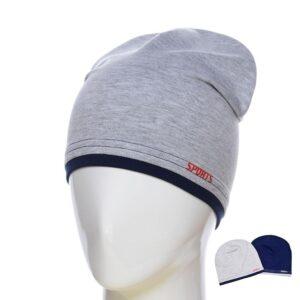 """Шапка-чулок для мальчика """"Sport's"""" KID 012"""