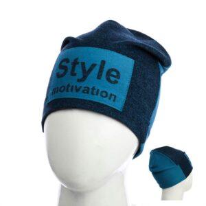 "Шапка для мальчиков ""Style Motivation"" KID 014"