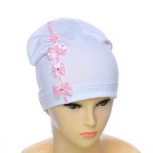 """Детская шапка бант для девочек NCG-008 """"Самира"""""""