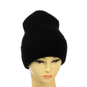 Молодёжная вязаная шапка MS 19-102