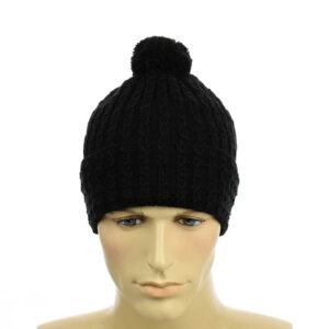 Молодежная мужская шапка с помпоном NCMY 333