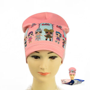 """Детская шапка для девочек NCG 064 """"LOL"""""""