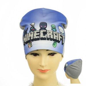 """Детская шапка для мальчиков KID 021 """"Minecraft"""""""