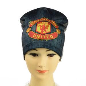 """Детская шапка для мальчиков KID 020 """"FC Manchester United"""""""