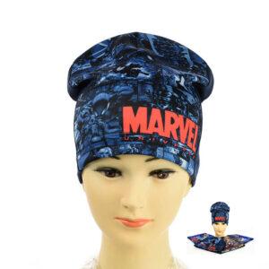 """Детская шапка для мальчиков KID 016 """"Marvel"""""""