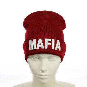 "Молодежная шапка ""Mafia"" 053"