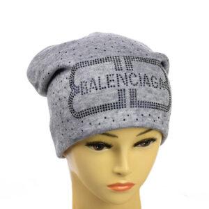 """Женская зимняя шапка """"Balenciaga"""" MS 19-004"""